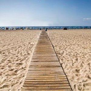 Pasarela playa